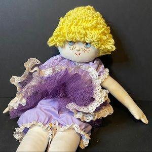 Vintage Handmade Ballerina Doll 22.5' Tall